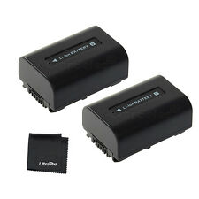 2x NP-FV30 NPFV30 Battery + BONUS for Sony DCR-SX33 SX45 SX65 SX85 SR88 SR20