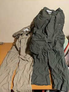 Columbia Omni - Shade Sun Protection 36 34 Hiking Outdoors Pants Lot Olive Khaki