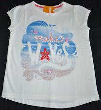 Gymboree Mermaid Cove Sequin Seastar MAKE WAVES White Shirt 8 Kid Girls NWT