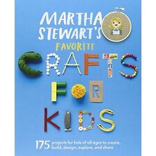 Martha Stewart's Favorite Crafts for Kids: 175 Projects - Paperback NEW Martha S