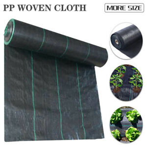 20/30/50/100M Weed Mat Matting Control Weedmat Woven Fabric Garden Plant Cover