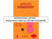Applied Hydrology by Ven Chow, David Maidment & Larry Mays