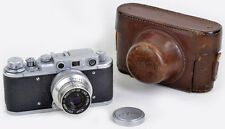 Leica II COPY: Zorki 1 + RIDIG Industar-22 3,5/50 (Bj. 1951) RARE & TOP & CLEAN!
