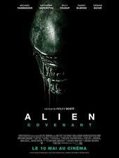 Affiche Pliée 40x60cm ALIEN : COVENANT (2017) Ridley Scott - Waterston NEUVE