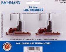 Bachmann HO Scale Train Log Cars-Die Cast Skidder (Non-Operating) 18302