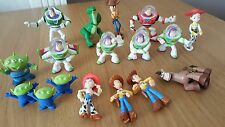 Toy Story x 17 Figures Bundle - Woody, Buzz, Jess, Bullseye, Aliens & Rex