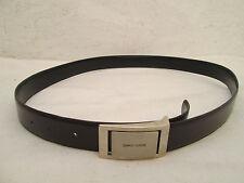 - AUTHENTIQUE   ceinture CHARLES JOURDAN  cuir  (T)BEG  vintage