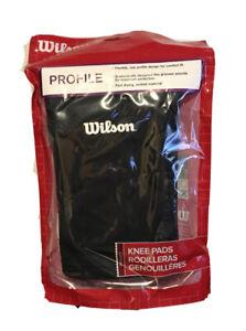 Wilson Profile Junior Knee Pads Black New WTH2511JR New