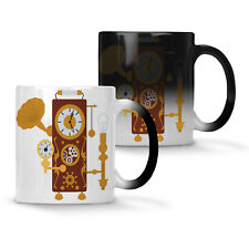 Steampunk Clock Colour changing 11oz Mug n969w