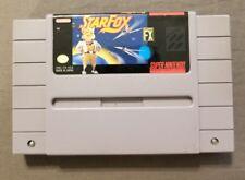 StarFox Super Nintendo SNES Authentic Game Cartridge Only