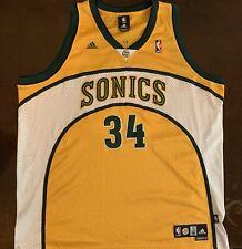 Vintage Adidas NBA Seattle Supersonics Ray Allen Basketball Jersey