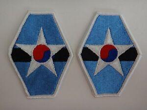 Set 2 États-Unis Corée Joint Combinée Field Armée Corps Correctifs non Utilisé