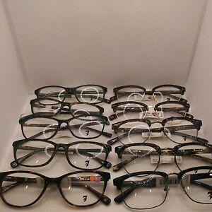 Lot Of Of 10 7 For Mankind Prescription Eyeglasses Frame #88 b9👓👓👓👓👓