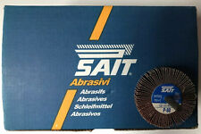 UNITED ABRASIVES-SAIT 70061 Flap Wheel,2-1/2x1/2x1/4 80x,PK10