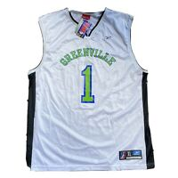 Mens Vintage Reebok Greenville Groove NBDL Basketball Jersey Size Medium XL