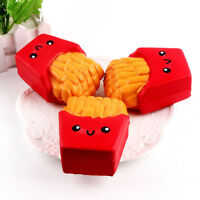 Squishy kawaii 12CM french fries Cream Scented Squeeze 6 Second Slow Rising Toy