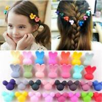 30 PCS Plastic Kids Baby Mini Claw Girls Hairpins Flower Hair Clips Clamp Hot
