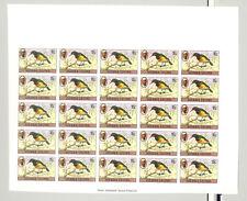 Sierra Leone #464 Birds 1v Imperf Sheet of 25