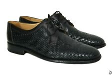 1000$ Gravati Derby shoes 43 size Black Handmade in Italy