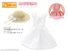 Azone PNS Early Summer Girl's One-piece Dress Set - White FREE SHIPPING