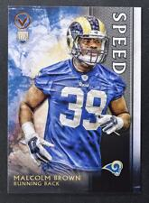 2015 Topps Valor Speed #104 Malcolm Brown - NM-MT