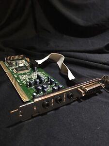 ASOUND GOLD AS004 ISA 16-bit PnP SB Compatible Sound Card w Game Port, Bulk NEW