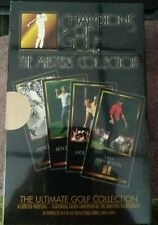 1997 GRAND SLAM VENTURES CHAMPIONS OF GOLF TIGER WOODS ROOKIE FACTORY SET BOX!