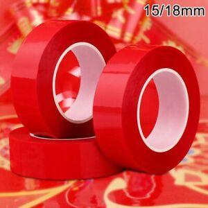 10M Acrylique Transparent Ruban Adhésif Double Face Fort Voiture Sticker Rouleau