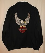Dickies Zip Jacket Harley-Davidson Patches Medium