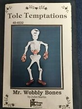 New ListingMr Wobbly Bones, By Juliet Martin, Tole Temptations, Tole paint Pattern Packet