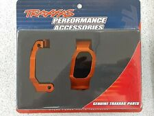 Traxxas 8932A Maxx Aluminum Caster Blocks Orange Brand New!!