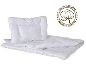 Children Anti Allergy Duvet Quilt 120x90 & Pillow Baby Toddler Cot Bedding Set