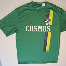"""Cosmos Soccer T-Shirt New York 38"""" Chest Polyester Stretch-Fit Medium New"""