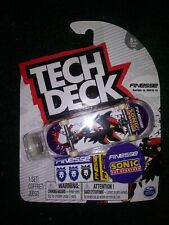 TECH DECK FINESSE SHADOW Ultra Rare Series 12 Fingerboard Skateboard
