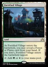 1x FORTIFIED VILLAGE - Dual Land - Innistrad - MTG - NM - Magic the Gathering