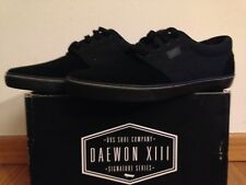 Dvs Daewon 13 Ct Black Skateboard Shoes