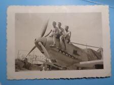 3x foto  luftwaffe jagdflieger me109 abgeschossen JG51 Böblinge 1940 Wappen
