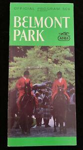 1987 Man o' War Stakes Program Belmont Park 3rd Leg Fall Championship Series