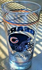 Chicago Bears Tumbler Glass NFL Football