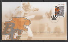 CANADA #2569 THE 100TH GREY CUP GAME - BC LIONS FIRST DAY COVER