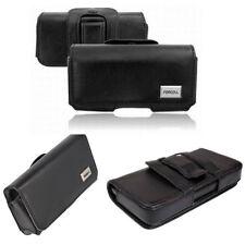 Gürtel Handy Quertasche f HTC Desire X / V Seiten Tasche Hülle Etui Seiten Case