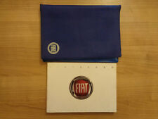 Fiat Scudo Owners Handbook/Manual and Wallet 05-09 (German)