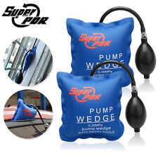 2x Super PDR Air Wedge Pump Inflatable Shim Air Cushioned Powerful Hand Tool Set