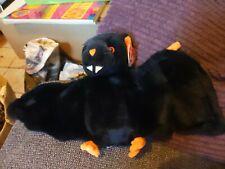 TY BEANIE BAT BUDDY-e  Black & Orange BAT  RETIRED  Excellent CONDITION