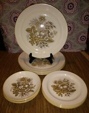 Vintage! Copeland SPODE Provincial S-3211Lot of 12 Dishes High Detailed  England