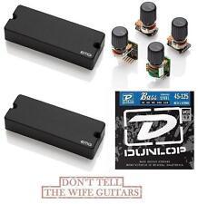 EMG 40DC Set 5 String Soapbar & BTS Tone Control System ( FREE BASS STRINGS )