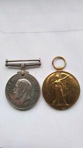 WW1 Pair British War Victory Medal Ord R G Stone Royal Navy Medals