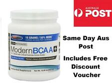 USP Labs MODERN BCAA  + 8:1:1 Amino Acid Ultra Micronized BLUE RASPBERRY