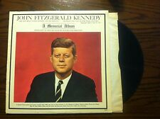 John F. Kennedy – John Fitzgerald Kennedy (A Memorial Album) Premier - vinyl lp