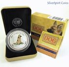 2006 YEAR OF THE DOG COLOURED COIN SHOW SPECIAL 2oz Silver Proof Coin